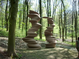"Tony Cragg, Skulpturenpark ""Waldfrieden"" in Wuppertal"